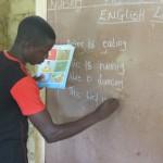 Teacher in Small Sefadu